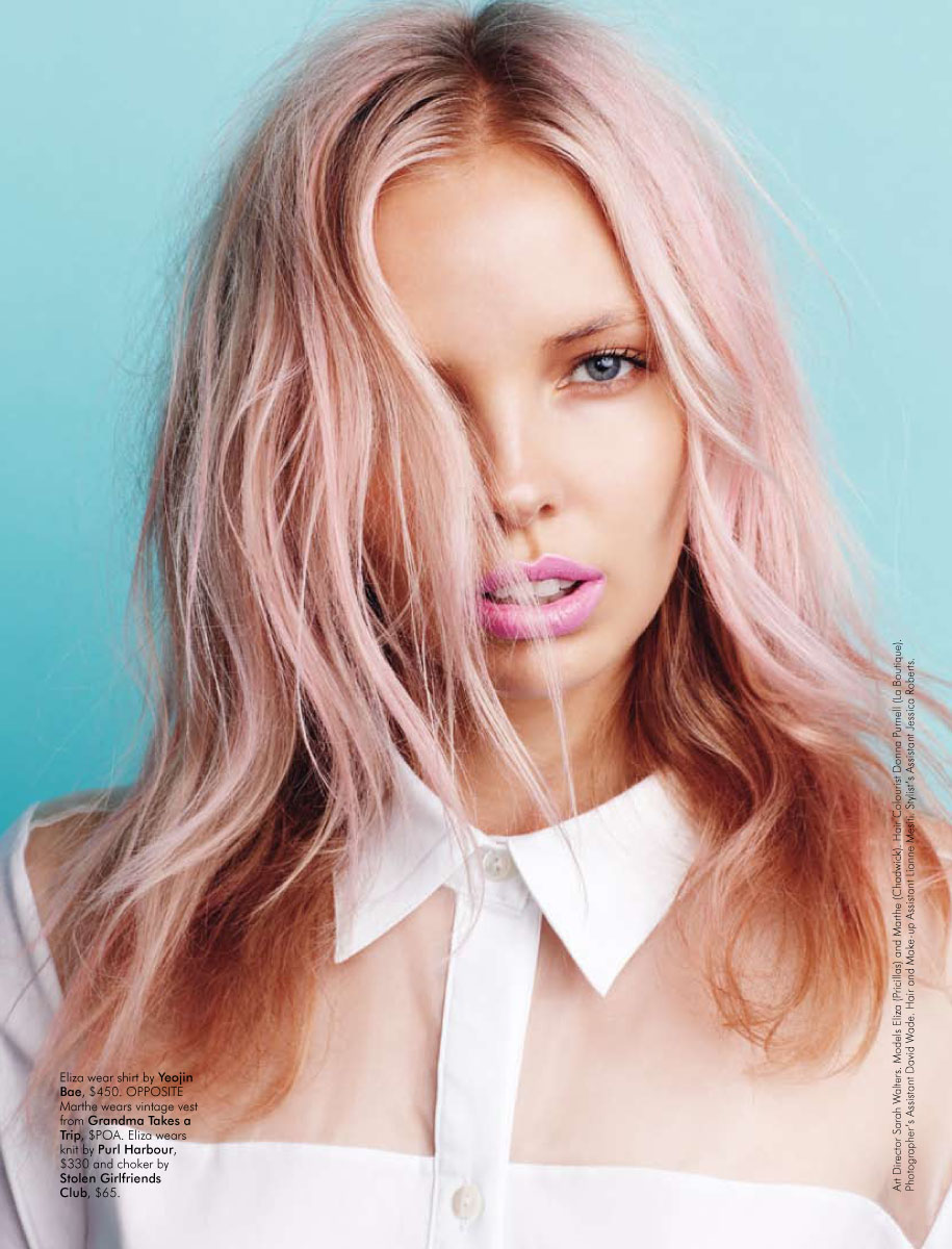 Pastel hairs we like…