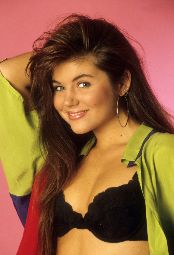 allvip.us Tiffani Amber Thiessen Kelly Kapowski Saved by the Bel