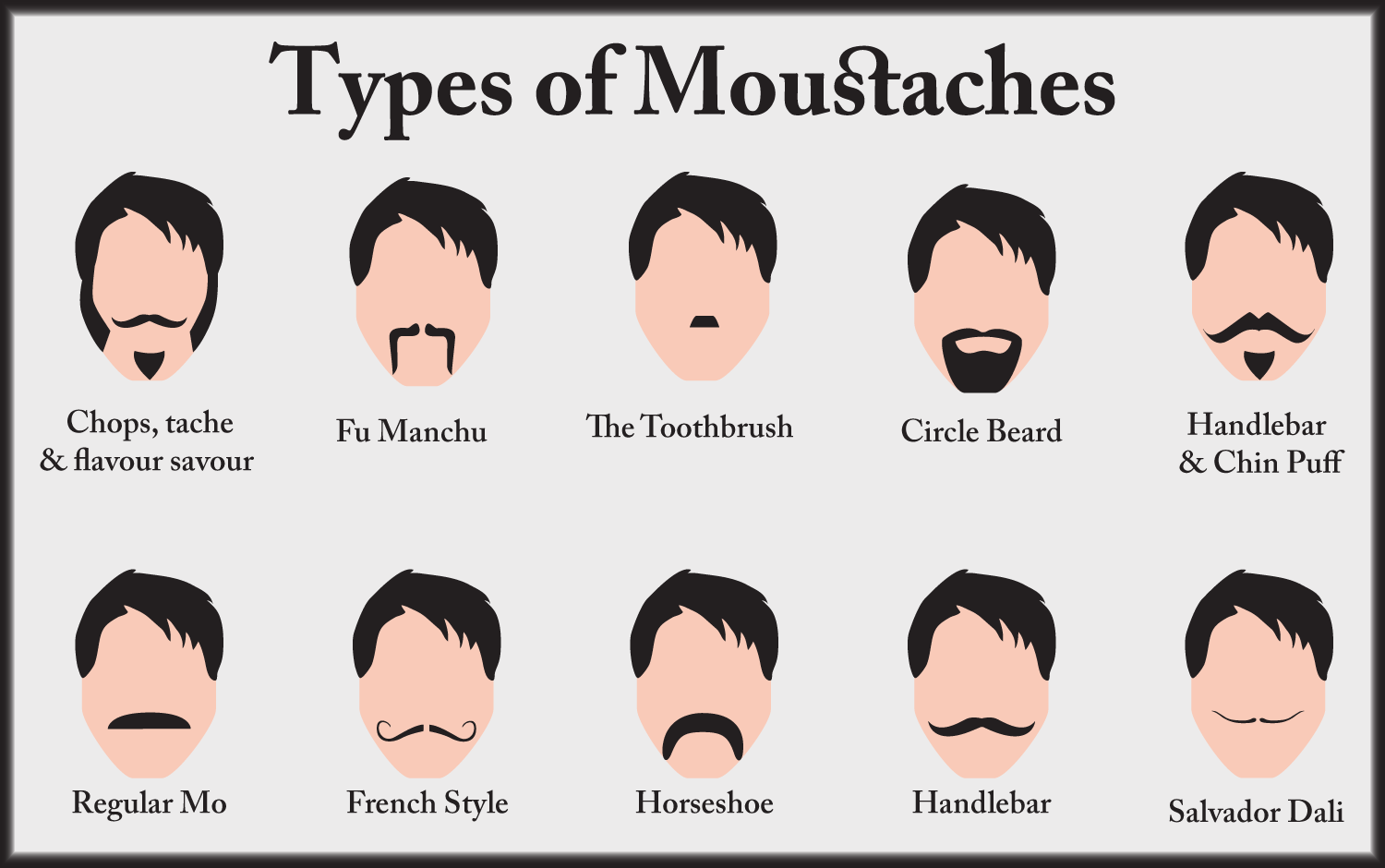 Https Freshairboutique Wordpress Com Tag Types Of Mustaches