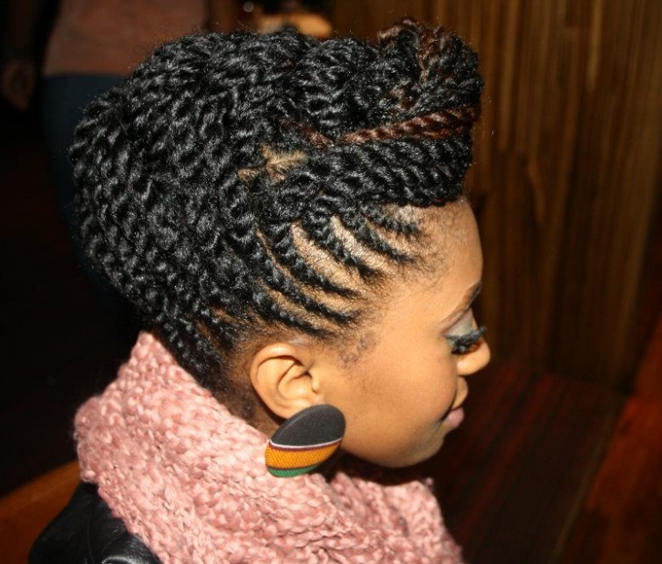 Short Natural Hair Black Women with Natural Hair Protective Styles For ...