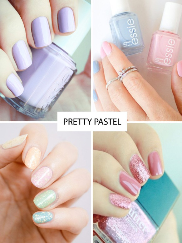 Spring-nail-trends-pretty-pastel