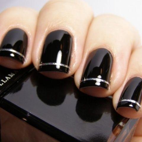 Black Nail Polish Tumblr Tginwv18z