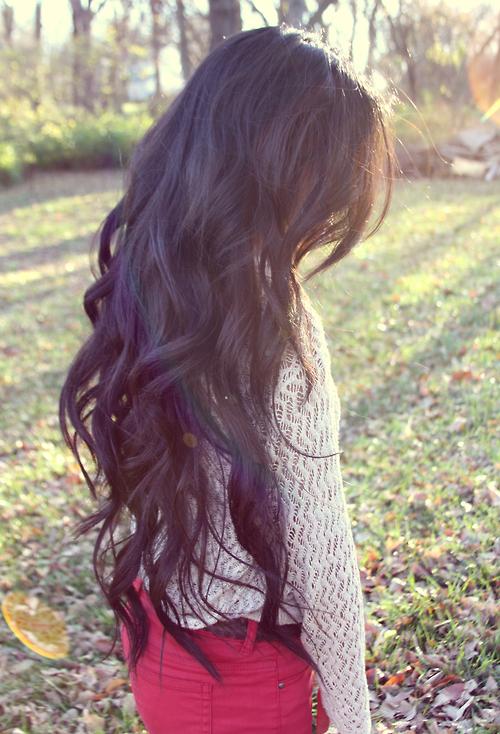 Длинные волосы на аву