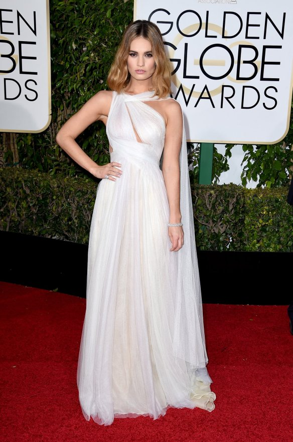lily-james-golden-globes-2016