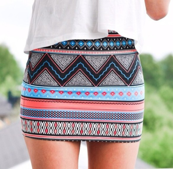 b15p7a-l-610x610-skirt-tribal+aztec+mini+skirt-tribal+pattern+skirt-shirt-colourful-tubeskirt-tube+skirt-multi+colour-stripes-pencil+skirt