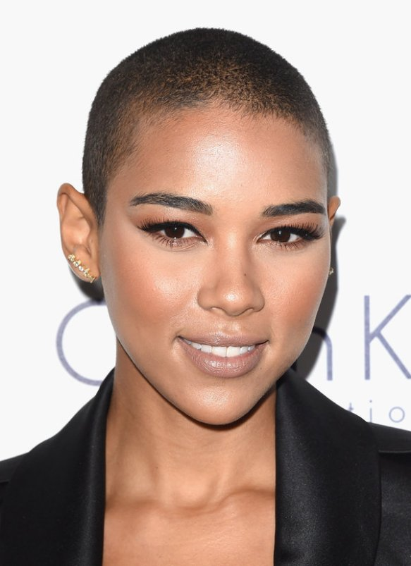 LOS ANGELES, CA - OCTOBER 19:  Actress Alexandra Shipp attends the 22nd Annual ELLE Women in Hollywood Awards at Four Seasons Hotel Los Angeles at Beverly Hills on October 19, 2015 in Los Angeles, California.  (Photo by Jason Merritt/Getty Images)